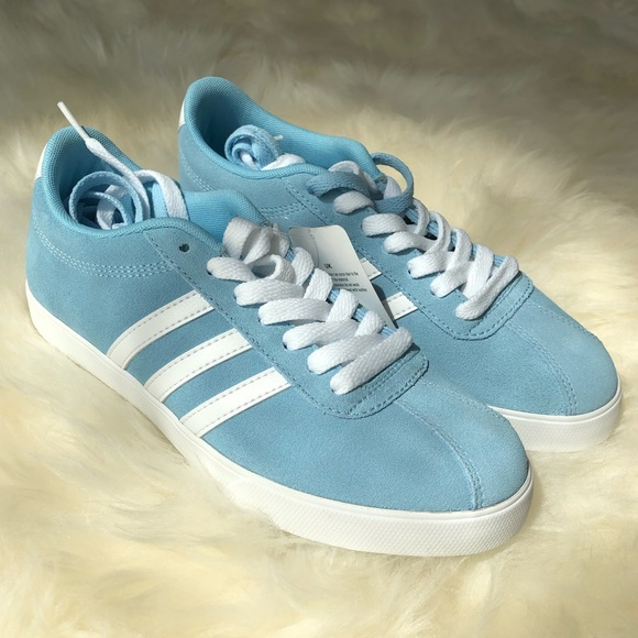 adidas Shoes   Adidas Light Blue Suede